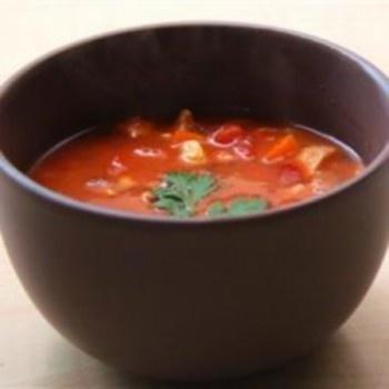Aštri vištienos sriuba
