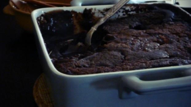 Šokoladinis pudingas