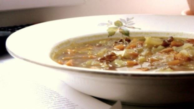 Lęšių ir morkų sriuba