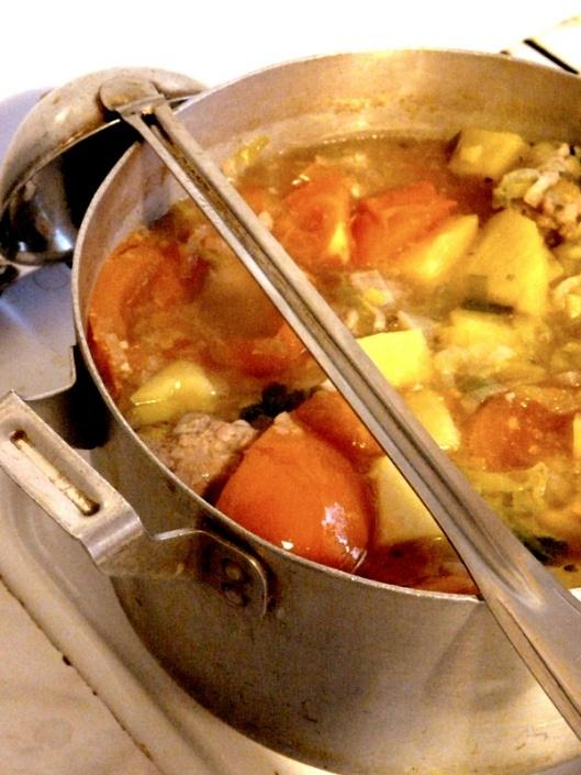 Bulvienė su mėsos kukuliais