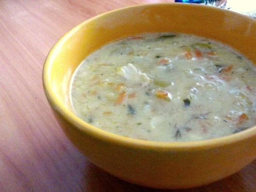 Vištienos ir daržovių sriuba