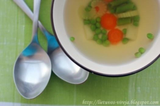 Pavasario sriuba (printanier)