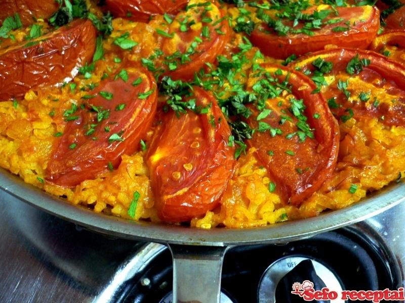 Ryžiai su pomidorais