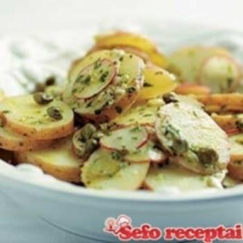 "Prancūziškos salotos (""ratatouille"")"