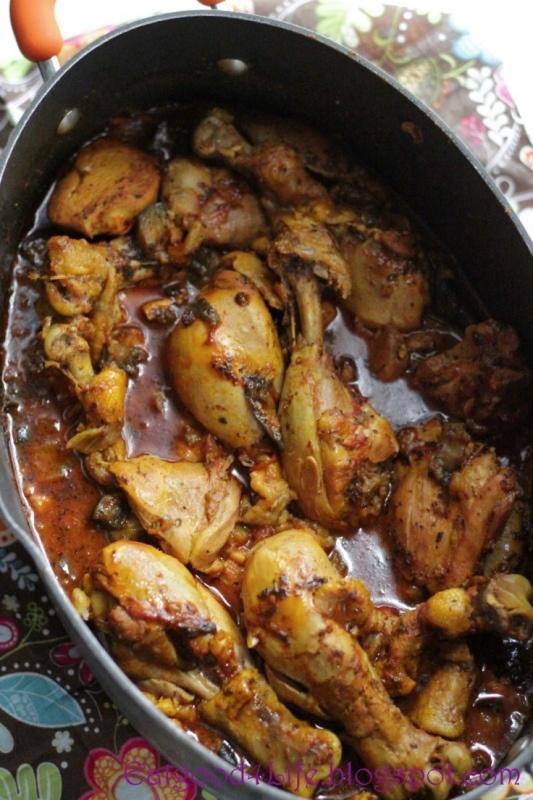 Marokietiškos vištienos šlaunelės