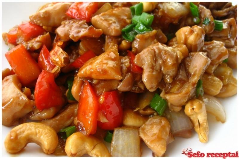 Vištiena kiniškai