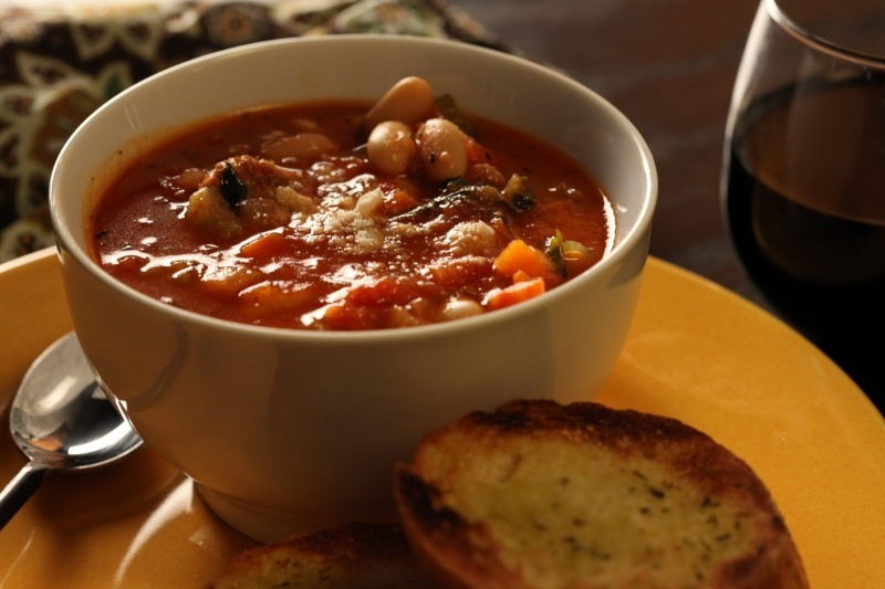 Itališka dešrelių sriuba