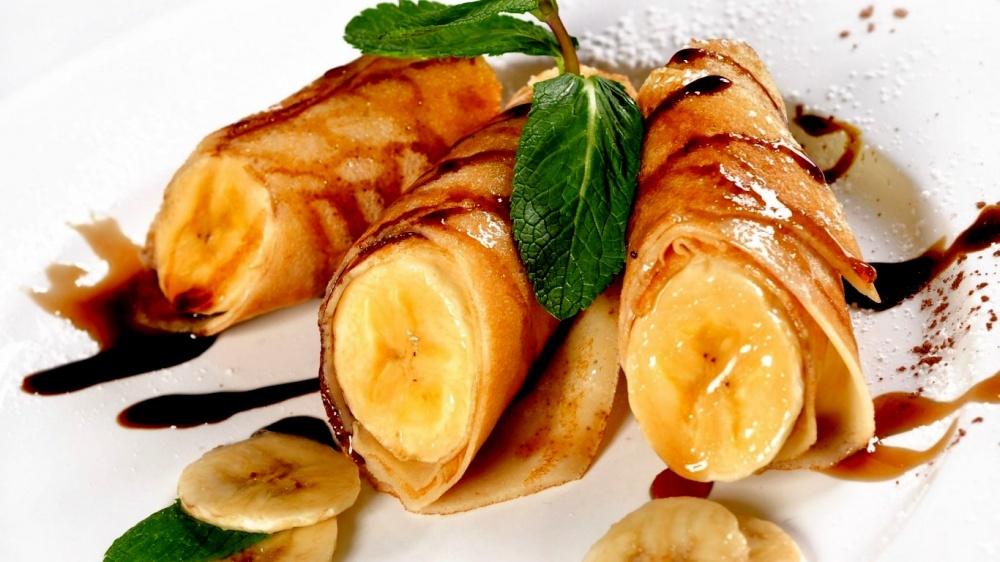 Lietiniai su bananais