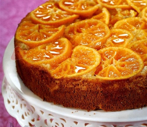 Egzotiškas mandarinų pyragas