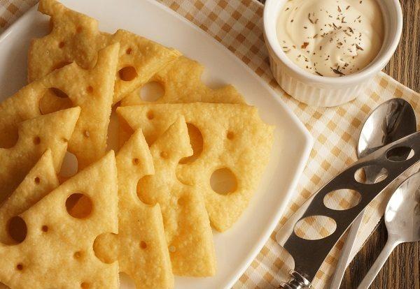 Sūrio krekeriai
