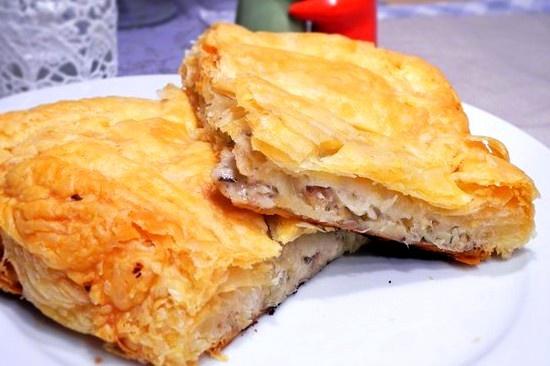 Pyragas su žuvimi