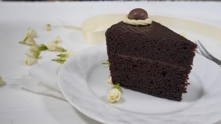 Šokoladinis pyragas be kiaušinių