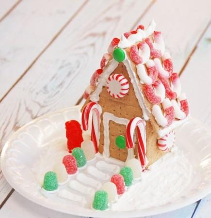 Nekeptas Kalėdinis namelis