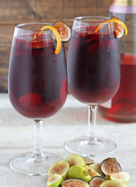 Labai skanus sangria vynas