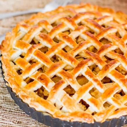 Klasikinis amerikietiškas obuolių pyragas