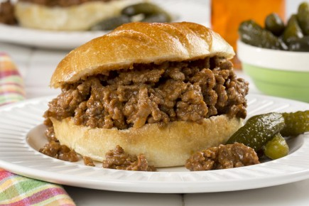 "Mėsainiai ""Sloppy Joe"""
