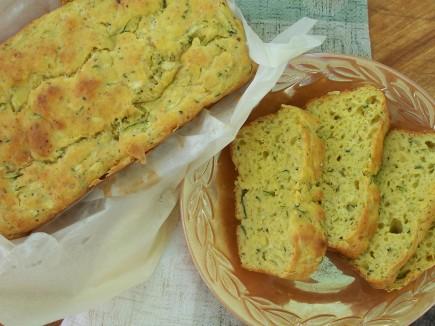Cukinijų duona sumuštiniams