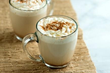 Moliūginė latte kava