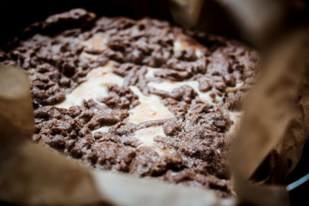 Traškus varškės pyragas