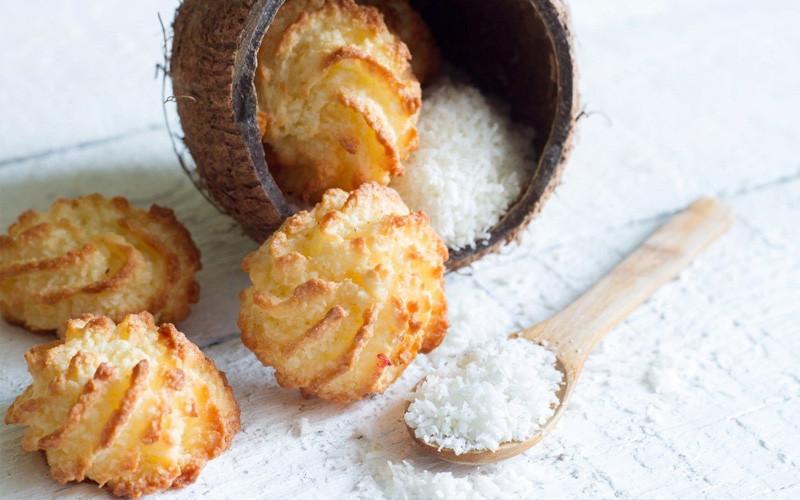 Naminiai kokosiniai sausainiai