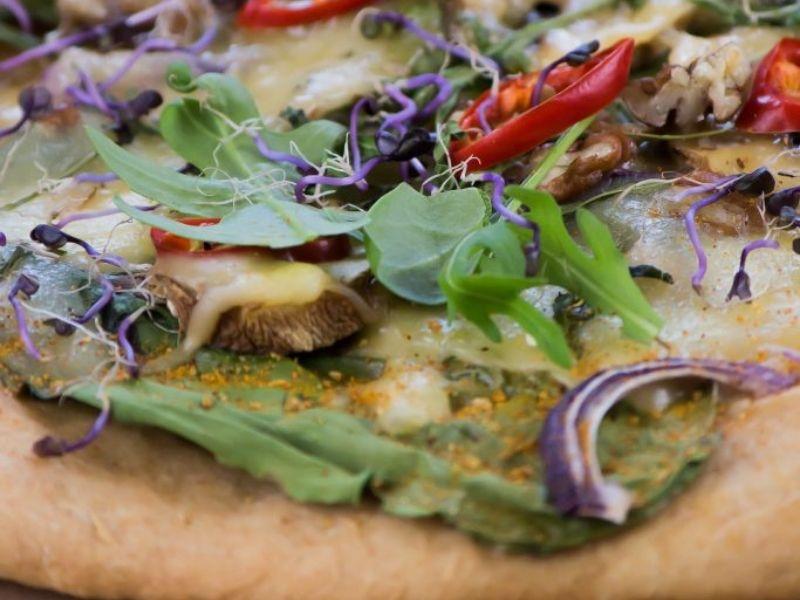 Sveikuoliška pica vegetarams ir ne tik