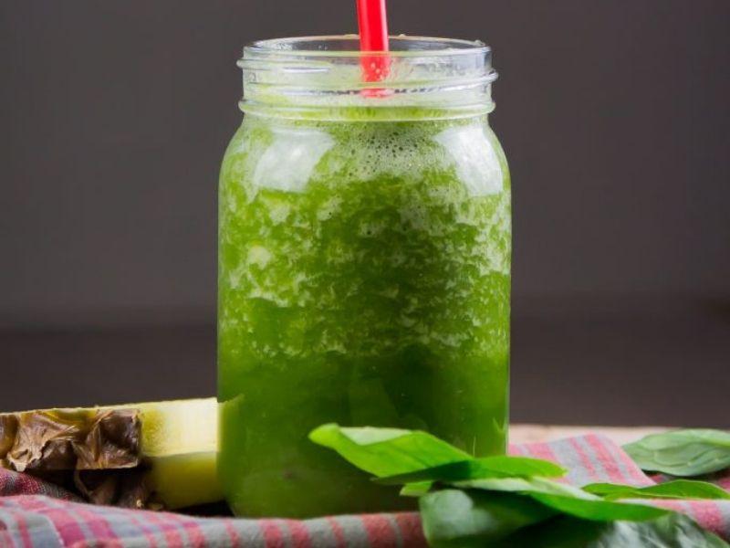 Žaliasis sveikuoliškas kokteilis