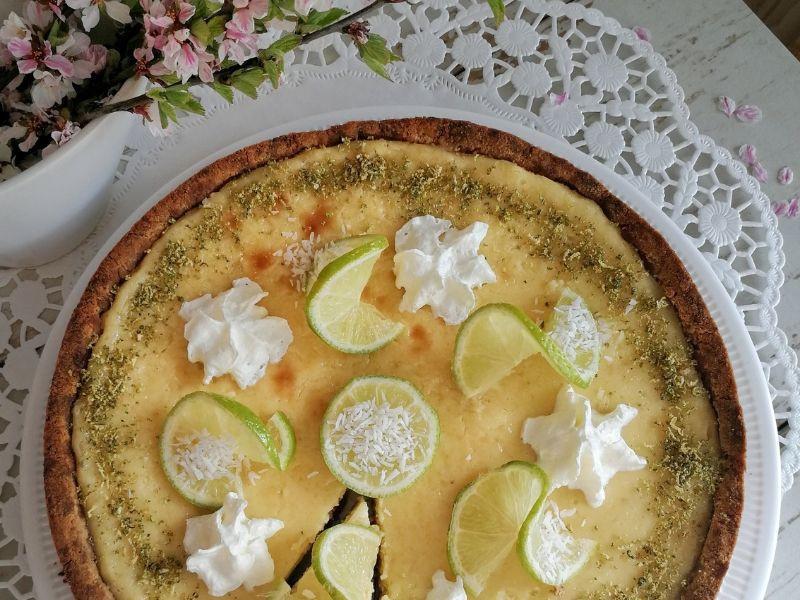 Žaliasis citrinų (laimų) pyragas