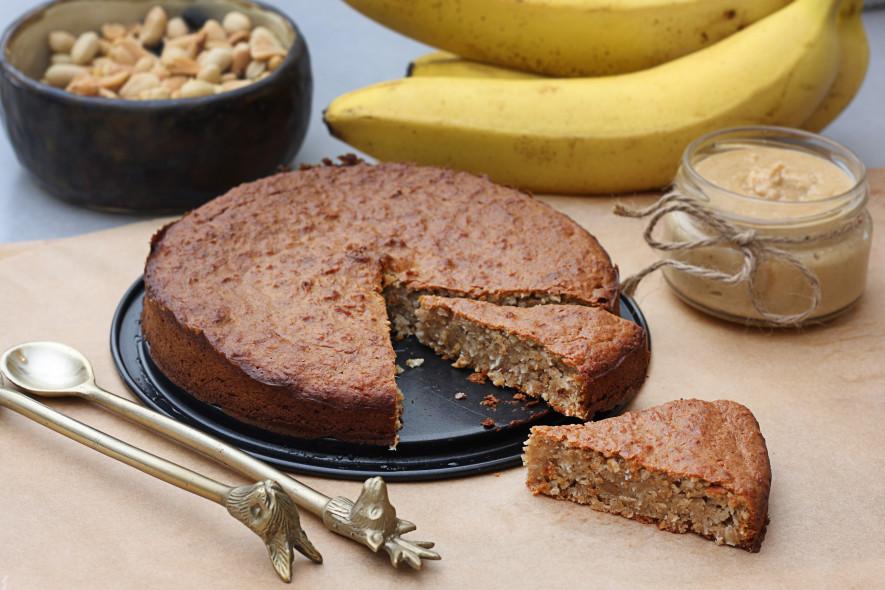 Sveikuoliškas riešutų pyragas be cukraus