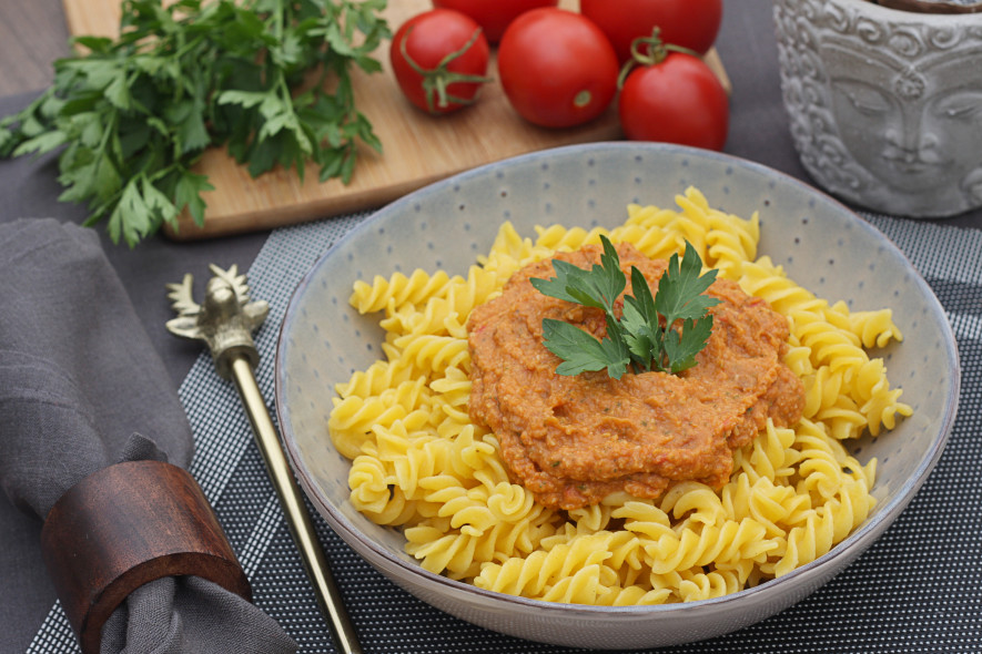 Makaronai su pomidorų pagardu