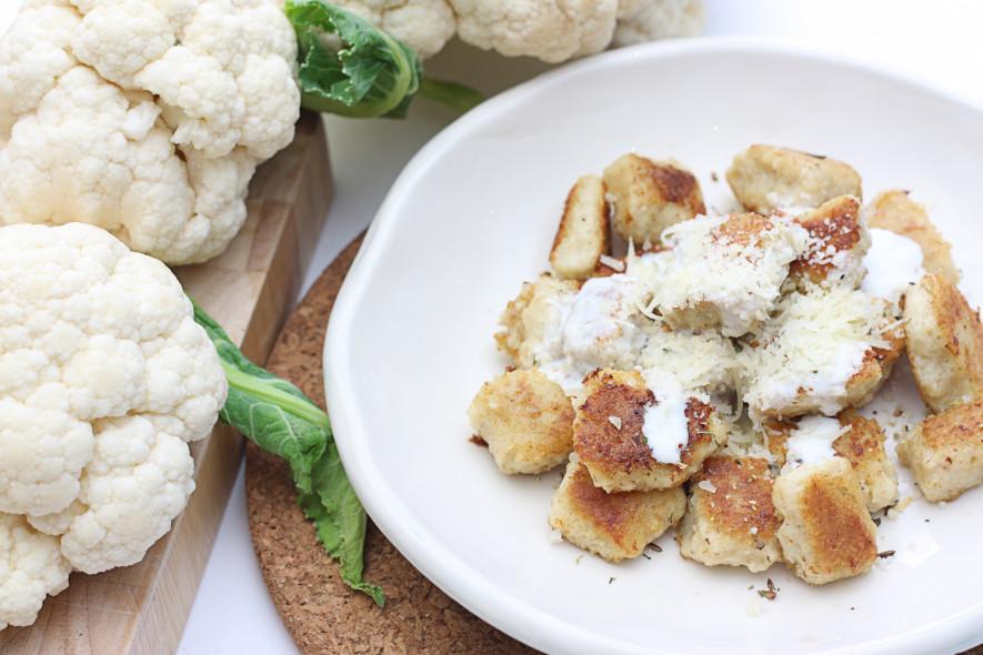 Žiedinio kopūsto Gnocchi (virtinukai)